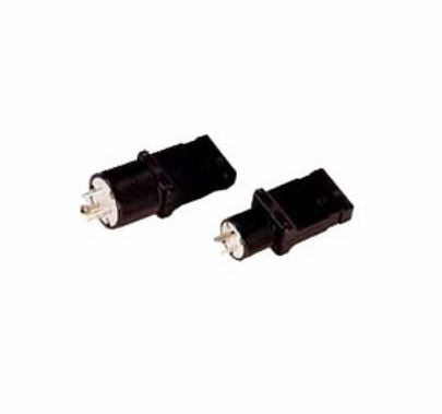 Rosco 20A Female Stage Pin to 15A Male Edison U Ground