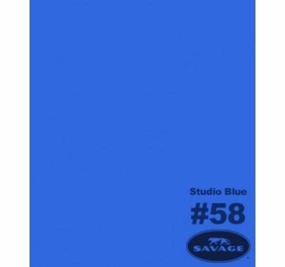 "Savage 58 Studio Blue Seamless Paper 53""x12yds"