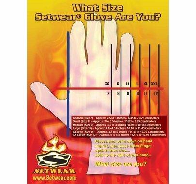 Pro Leather Lighting Grip Black Gloves