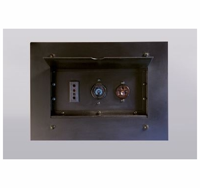Lex Power Plus Wall Pocket with (1) 20A Stage Pin Receptacle