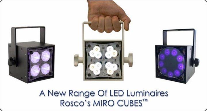 Rosco Miro Cube LED Light