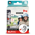 Alpine MotoSafe Pro Motorcycle Ear Plugs (2 Different Pairs - SNR 17/20)