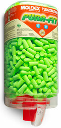 Moldex Pura-Fit 6845 UF Foam Ear Plugs PlugStation (NRR 33) (Dispenser with 500 Unwrapped Pairs)