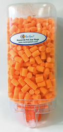 Got Ears? Round 30 PVC Ear Plugs in a Moldex Disposable Dispenser (500 Unwrapped Pairs--Limited Availability!)
