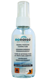 NoNoise A.O. Alcohol Cleaning Fluid for Non-Electronic Custom Plugs and Molds (50ml Spray Bottle)
