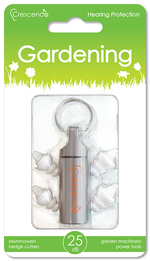 Crescendo Gardening Ear Plugs (NRR 16)