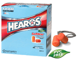 Hearos SoftStar NexGen Series 7311 UF Foam Ear Plugs - CORDED (NRR 30) (Box of 100 Pairs)