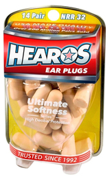 Hearos 5210 Original Formulation Ultimate Softness Series Foam Ear Plugs (NRR 32) (14 Pairs)