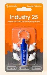 Crescendo Industry 25 Natural Sound Ear Plugs