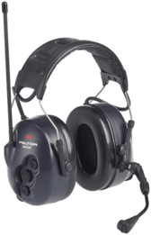3M Peltor MT53H7A4602-NA LiteCom FRS Two-Way Radio Ear Muffs Headset (NRR 25)