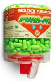 Moldex Pura-Fit 6844 UF Foam Ear Plugs PlugStation (NRR 33) (Dispenser with 250 Unwrapped Pairs)