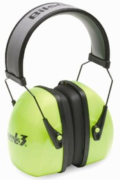 Howard Leight by Honeywell Bilsom Leightning L3HV High Visibility Headband Model Ear Muffs (NRR 30)