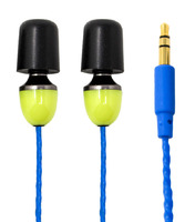 ISOtunes Wired (Listen-Only) IT-10 OSHA-Compliant Noise-Isolating Earbuds with Music + Hearing Protection (NRR 29)