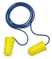 E-A-R Taper-Fit 2 UF Foam Ear Plugs Corded (NRR 32) (Case of 2000 Pairs)