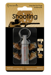 Crescendo Shooting Multimode Ear Plugs (NRR 9/19)