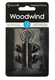 Crescendo Woodwind Musicians Ear Plugs (NRR 7)