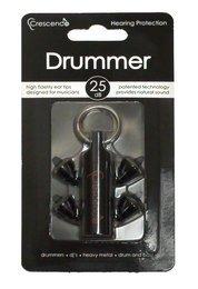 Crescendo Drummer Musicians Ear Plugs (NRR 16)
