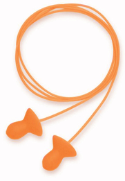 Howard Leight by Honeywell Quiet Reusable Foam Ear Plugs Corded w/Case (NRR 26) (Box of 50 Pairs)