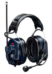 3M Peltor MT73H7A4D10-NA WS LiteCom PRO III Communications Headset with Built-In Two-Way Radio (NRR 28)