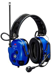 3M Peltor MT73H7A4D10-50 WS LiteCom PRO III Intrinsically Safe Communications Headset with Built-In Two-Way Radio (NRR 28)