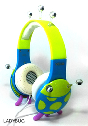 Vcom Ladybug Magical Headphones for Children