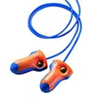 Disposable Foam Metal Detectable Ear Plugs by the Pair (1-50 Pairs)