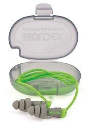 Moldex Alphas Reusable Ear Plugs - w/ Unattached Cord in Pocket-Pak Plus (NRR 27)