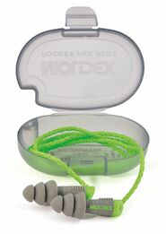 Moldex Alphas Reusable Ear Plugs - w/ Cord in Pocket-Pak Plus (NRR 27)