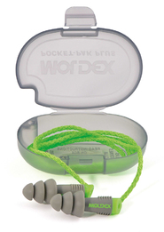 Moldex Alphas Reusable Ear Plugs - w/ Unattached Cord in Pocket-Pak Plus (NRR 27) (Box of 50 Pairs)