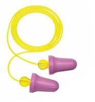 Peltor Next No-Touch No-Roll Foam Ear Plugs Corded (NRR 29) (Box of 100 Pairs)