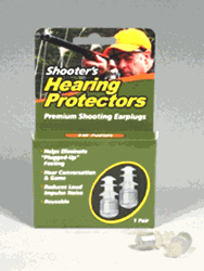 Health Enterprises ACU-LIFE Shooter's Ear Plugs (Sonic Valve II)