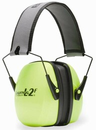 Howard Leight by Honeywell Bilsom Leightning L2FHV Folding Model High Visibility Ear Muffs (NRR 27)