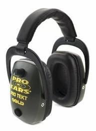 Pro Tekt Slim Gold Industrial Electronic Ear Muffs (NRR 28)