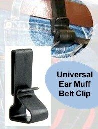 Pro Ears Ear Muff Belt Clip