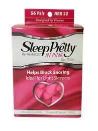 Hearos 5600 Sleep Pretty in Pink UF Foam Ear Plugs (NRR 32) (56 Pairs)