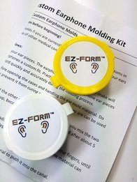 Got Ears?® EZ Form™ DIY Earphone Mold Making Kit
