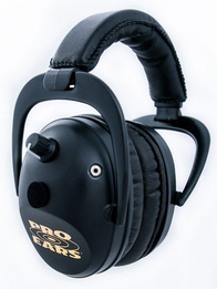 Pro Ears Predator Gold Electronic Sport Shooter's Ear Muffs (NRR 26)