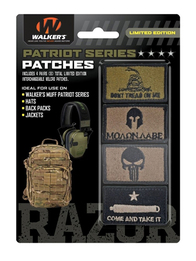 Walker's Patriot Ear Muff Patch Kits