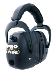 Pro Ears Pro Mag Gold Series Electronic Shooting Ear Muffs (NRR 30)