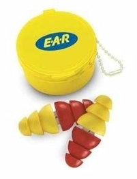E-A-R ARC Double-End Welder's Ear Plugs w/Case and Removable Cord