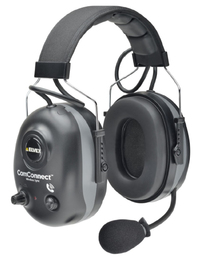 Elvex ComConnect 660NRW Wireless BlueTooth Ear Muff Headset with Boom Mic (NRR 22/SNR 27)