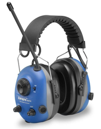 Elvex Aware Electronic AM/FM Radio and Communications Ear Muffs (NRR 22)