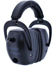 Pro Tac Mag Gold Police and Military Electronic Ear Muffs (NRR 30)