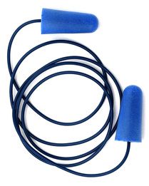Tasco Soft-Seal 9304 M-Tek Metal-Detectable UF Foam Ear Plugs With Standard Cord (NRR 32)