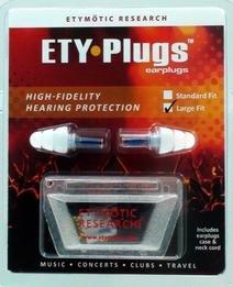 Etymotic ER20-CCC-C Hi-Fi Musicians Ear Plugs (Lg Size w/Cord & Case)