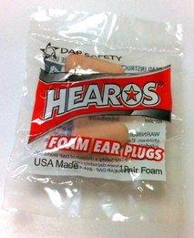 Hearos 405 Original Formulation Ultimate Softness UF Foam Ear Plugs (NRR 32) (100 Individually Wrapped Pairs)