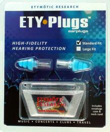 Etymotic ER20-SMB-C Hi-Fi Musicians Ear Plugs (Standard Size: Blue or Frost Tip)