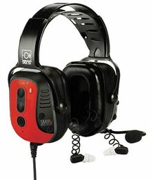 Sensear SmartMuff SM1P-ExDP Dual Protection Intrinsically Safe Communications Headset (NRR 31)