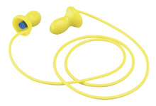 E-A-R EZ-Ins Reusable Ear Plugs Corded (NRR 22) (Box of 100 Pairs)