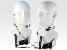 Neckmike M4 Bluetooth Short Range Two-Way Communications System (Twin Pack)